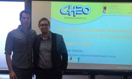 Greg Traversy Successfully Defends MSc Thesis