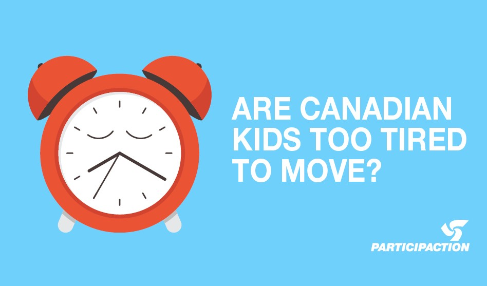 Canadian Kids Are Inactive and May Be Losing Sleep Over It