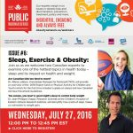 Upcoming Webinar: Sleep, Exercise and Obesity