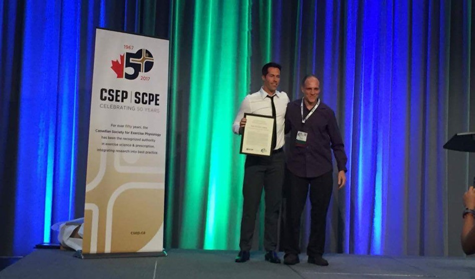 Dr. Jean-Philippe Chaput Receives the 2016 CSEP Young Investigator Award