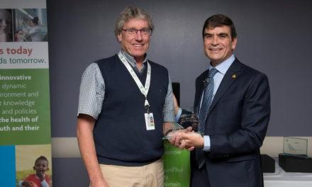 Dr. Mark Tremblay Wins 2016 CHEORI Outstanding Investigator Award