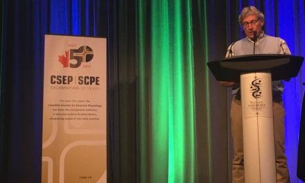 Dr. Mark Tremblay Receives the 2016 CSEP Honour Award