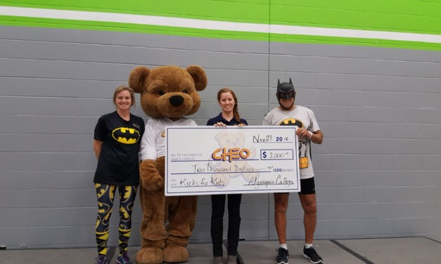 HALO Receives Donation From Algonquin College