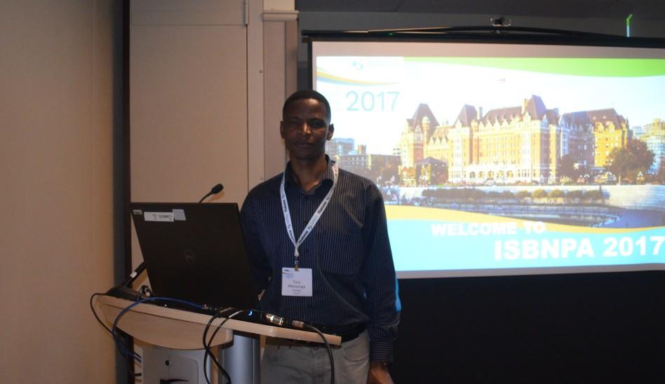 Taru Manyanga Makes Presentation at ISBNPA Conference in Victoria