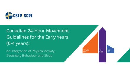 24-Hour Movement Guidelines for the Early Years: An Integration of Physical Activity, Sedentary Behaviour, and Sleep