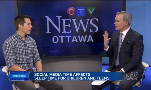 Dr. Jean-Philippe Chaput's Research on Social Media Use and Sleep Patterns Featured on CTV Ottawa
