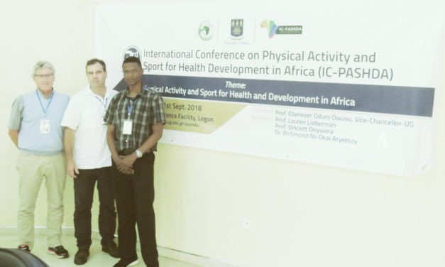 HALO Researchers Present at PASHDA Conference in Ghana