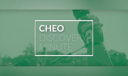 Dr. Pat Longmuir's Physical Literacy Research Featured in the Latest CHEO Discovery Minute