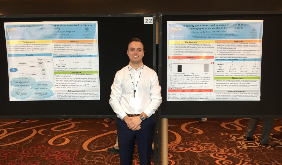 HALOites Present Their Research at the 2018 Canadian Society for Exercise Physiology Conference