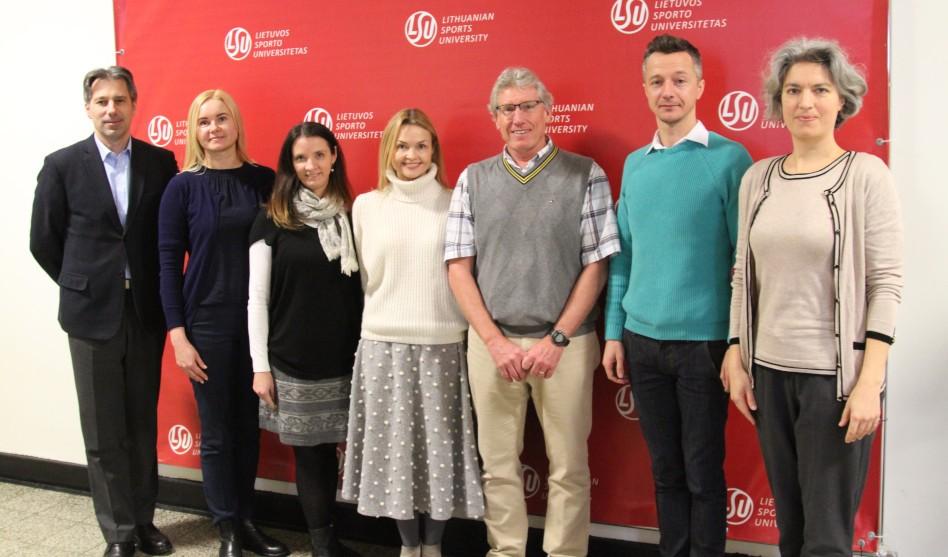 Professor Mark Tremblay Makes Presentation at Lithuania Sports University