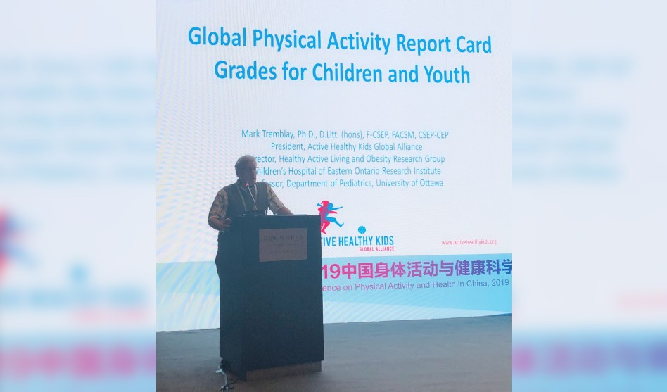 Professor Mark Tremblay Delivers Invited Lecture in China