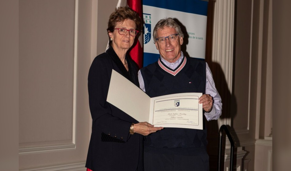 Professor Mark Tremblay Inducted as Fellow of the Canadian Academy of Health Sciences