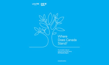 Unicef Canada Releases the First Baseline Report of the Canadian Index of Child and Youth Well-being