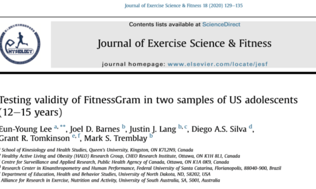 Testing Validity of FitnessGram in Two Samples of US Adolescents (12–15 Years)