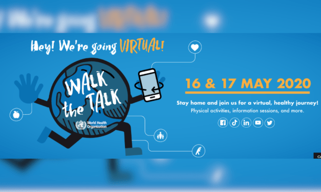 WHO's 3rd Walk the Talk: The Health for All Challenge – join virtually!
