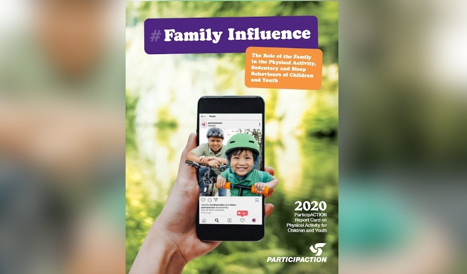 New ParticipACTION Report Card Shows Families are Critical Influencers for Children's Healthy Habits – But Support is Needed to Get Kids Moving