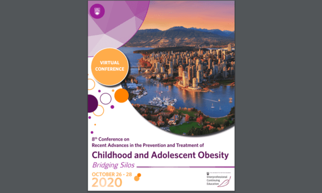 Upcoming Virtual Conference on Recent Advances in the Prevention & Treatment of Childhood and Adolescent Obesity – September 26-28