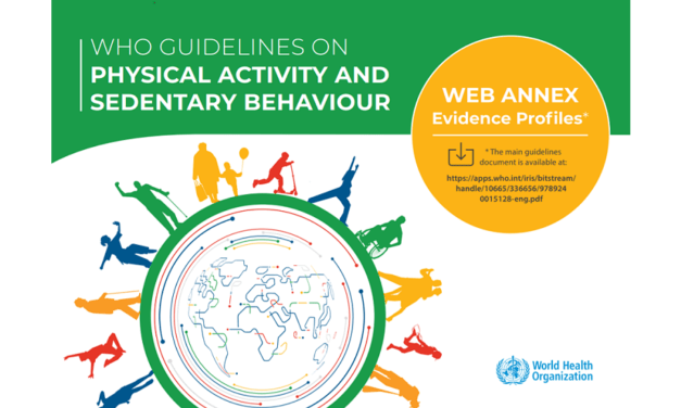 New WHO 2020 guidelines on physical activity and sedentary behaviour just released!