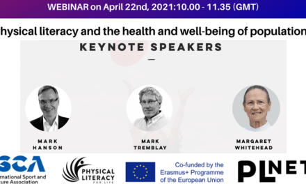 Upcoming Webinar: Physical Literacy and the Health and Well-Being of Populations