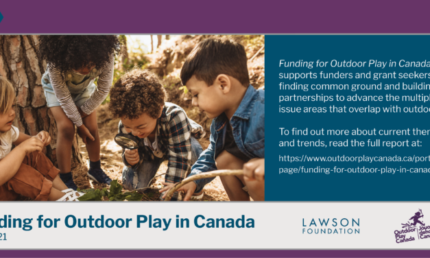 Funding for Outdoor Play in Canada